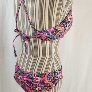 Shade & Shore Swim - Bikini Underwire Top Ruffled Cheeky Bottom NWOT